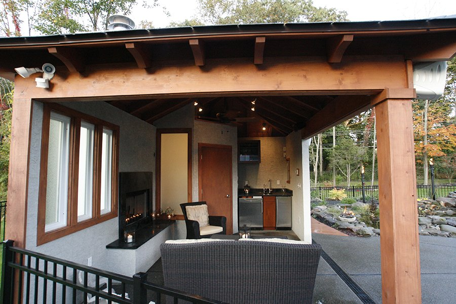 Cabanas Pool Houses Amp Decks Gallery Crystal Clear