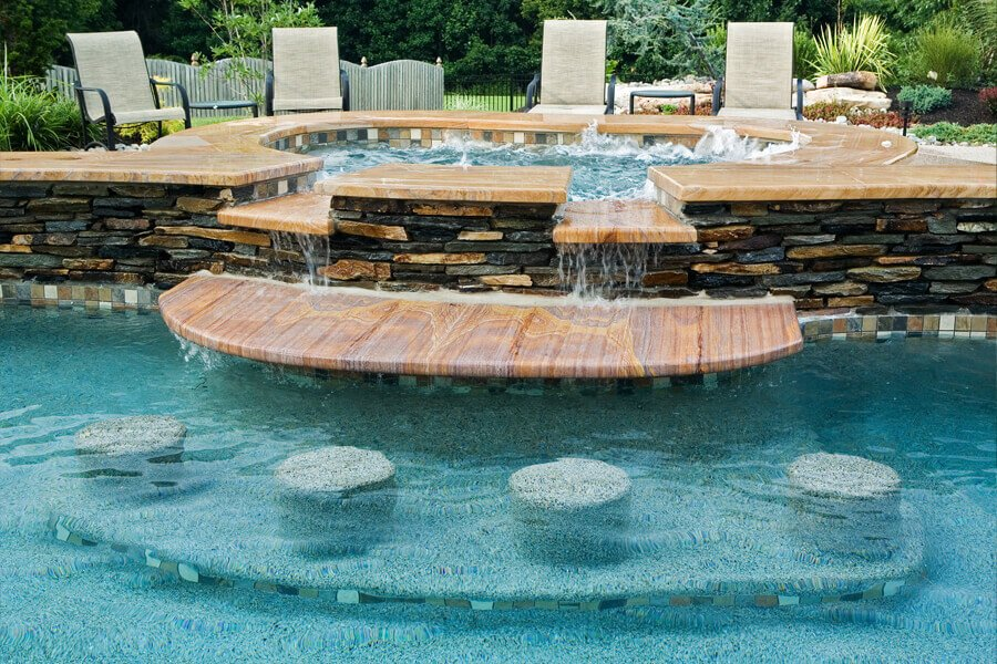 Featured Projects Gallery Crystal Clear Signature Pools